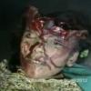 Miren que orrible muerte muere acausa de una bomba el diablo!!!