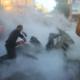 """Habitantes de la Franja de Gaza: """"Ni podemos salir a las calles con tantas bombas callendo"""