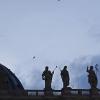 Se corta la luz de la cúpula de la Basílica del Vaticano el primer día de la elección de papa