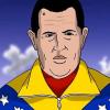 Video: La versión animada de la llegada de Chávez al cielo se pasan con esto