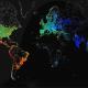 Un Hacker logro tomar Imágenes espectaculares del mapa mundial de acceso a Internet
