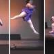 VIDEO Que maldito estrallon se dio esta goldita tienen que ver esto Fat Ballet Dancer