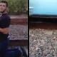 VIDEO Que maldito loco se acuesta en lo Rieles del tren para que le pase por encima