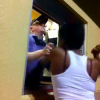 VIDEO LE ROMPIO LA CARA MIREN Fighting With The Jack N The Box Lady!
