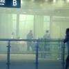 Un hombre detona unos explosivos en el aeropuerto de Beijing