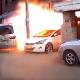 VIDEO QUE MALDITA EXPLOCION EN UN BLOQUE Gas Explosion Caught On Dash Cam