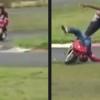 VIDEO MIREN ESTE SU PRIMERA MONTA EN UNA MOTORA Y SU DIENTE YANO TAN  Little Kid's First Time On A Mini Bike