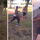 VIDEO MIREN ESTE PELIANDO PORFAVOR MIRENLO SEVAN AREIR Guy Loses A Fight With A Tree