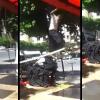 VIDEO QUE MALDITO ETRALLON DE UNA ESCALERA ALTICIMA SEDA ESTE LOCON
