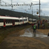 Video, fotos: Chocan dos trenes en Suiza miren como quedo