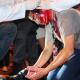 SANTICIMOO Una protesta contra el gasto por la visita del Papa termina en violencia