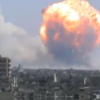 VIDEO Que explocion dios deja 40 muertos :Huge Explosion At Syrian Weapons Depot In Homs