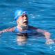 VIDEO Una mujer de 64 años nada por primera vez de La Habana a Florida sin jaula contra tiburones