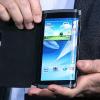 TECNOLOGIA NUEVA Samsung desarrolla un smartphone con pantalla curva
