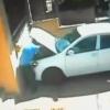 Vídeo sorprendente del día: Fíjate como este labron a plena luz del día se roba una batería