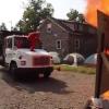 Video que quemacion Hicieron esto solo miren que locos :Painful Fire Wall Faceplant