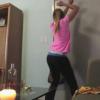 VIDEO miren esto si estan aburridos estan buenos Girl In Yoga Pants Attempts To Twerk