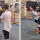 Video miren esta pelea de esto dos boxeadores :Two Evenly Matched Boxers