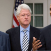 Obama, Bush y Clinton