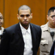 Este Famoso fue Arrestado podria pasar 4 years en pricion :Chris Brown arrested early this morning for felony assault.Could face 4 yrs in prison