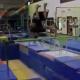 Miren Este video casi se rompe la cabeza miren lo que paso despue :Rookie Gymnast's Painful Fail