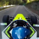 Video miren este carro atoda velosidad :Formula One Car Speeds Up Mountain Road