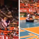 VIDEO ESTE CASI SEMATA MIREN PARA ESTO: Globetrotter Knocked Out By Goal