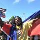 Videos, fotos: Las protestas en Haití terminan en violencia que maldito problema!