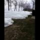 VIDEO INCREIBLE MIREN ESTO : Ice Moving Across Lake, Damaging Houses