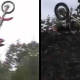QUE CREEN QUE PASO MIREN EL VIDEO :Dirtbike Backflip Double Fail