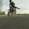 VIDEO ESTE SE ROMPIO LA CARA MIREN LO QUE PASO DESPUES Biker's Drifting Attempt Gone Wrong