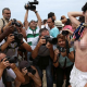 Fotos: Las brasileñas semidesnudas protestan por la legalización del 'topless'