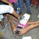 VIDEO ASIENDO DETO EN CAMARA Jamaican Dancer Gone Insane: Bussin It Open With Cement Block On Her Face!