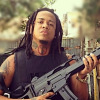 Fotos - Shelow shaq mostrando armas largas y de alto calibre para su nuevo video musical llamado mucho cabeceo