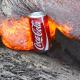 Video miren esta esperimentacion increible enterate de esto Coke Can Vs Lava