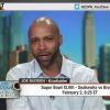 El rapero norte americano llmado Joe Budden's Super Bowl Prediction On ESPN's First Take