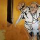 Religion catolica El Vaticano tuitea la foto de un grafiti del 'superpapa' Francisco