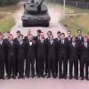Video Que creen que mirieron todos atropellados? Leopard Tank Emergency Brake Test