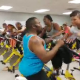 Video tienen que visitar este Gym para que rebajen Workout Class Going Off To Webbie!