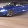 Video Miren este carro audi que errol cometio el chofer Audi R5 Snow Drifting Fail