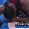 VIDEO NBA Miren como  dejo Lebron James el juego Hits A Strong Drive & Dunk On Serge Ibaka But Leaves The Game Bloodied!