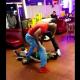 Que maldita pelea le rompieron la cara Foul: Lil Dude Gets Knocked Out By 2 Huge Guys At Taco Restaurant!