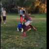 VIDEO Tremenda golpisa le debaratan la cara Uncle Tries to Protect His Nephew In A Fight But Gets Jumped After Bball Dispute!