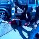 VIDEO La policia leda un tiro frente ala camara muy fuerte Police Shooting An Unarmed Fugitive (*Warning* Graphic)
