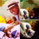 Video - Romeo santos hizo una visita sorpresa a la beba Alaisha luego de su exitosa operación.
