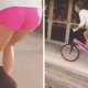 VIDEO Miren este tremendo choque diablo Babe On A BMX Crashes