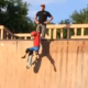 VIDEO miren esto que maldito estrallon estara vivo? Son Gets Kicked Off The Half-Pipe Skate Ramp By His Own Dad