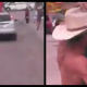 VIDEO Que hace este hombre desnudo asiendo estupideces miren Man Chases Wife's Naked Lover Down The Street