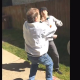 VIDEO Pelea miren que maldita trompa leda el hijo asu padre Son Knocks Out His Father!