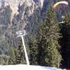 VIDEO me engranojo al ver esto tiene que estar loco miren  Grinding The Chairlift Cables